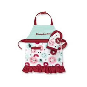 American Girl™ by Williams Sonoma Doll Apron & Mit