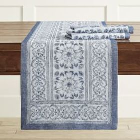 Tehla Jacquard Table Runner