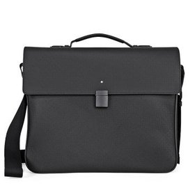 MontblancExtreme Single Gusset Briefcase- Black