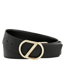 ZegnaXL Reversible Belt - Black- 42""