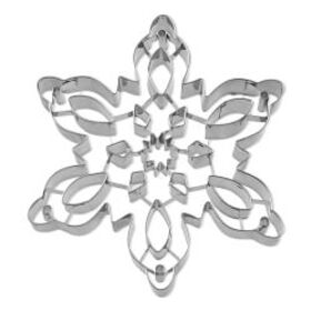Giant Stainless-Steel Snowflake Cookie Cutter