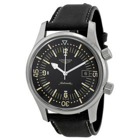 LonginesHeritage Automatic Black Dial Men's Watch