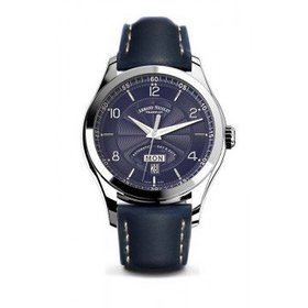 Armand NicoletM02 Blue Dial Automatic Men's Leathe
