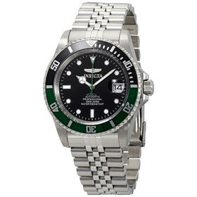 InvictaPro Diver Automatic Black Dial Men's Watch