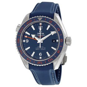 OmegaSeamaster Planet Ocean GMT Blue Dial Men's Wa
