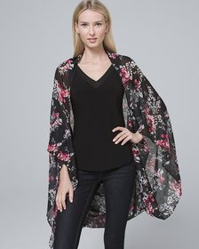 Floral Kimono Scarf/Cover-Up