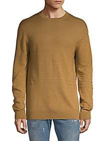 Saks Fifth Avenue Oversized Ribbed Sweater CAMEL