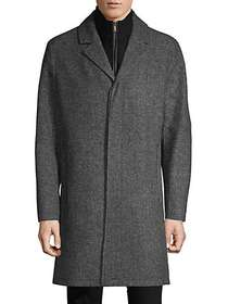 Cole Haan Cole Haan Classic 2-in-1 Notch Lapel Coa