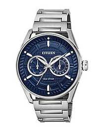 Citizen Eco-Drive Solar Powered Stainless Steel Wa