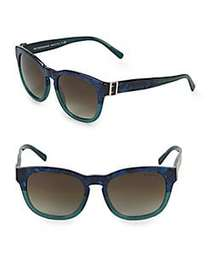 Burberry 54MM Wayfarer Sunglasses BLUE