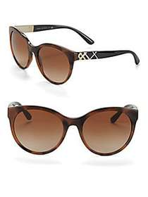 Burberry 56MM Cat Eye Sunglasses TORTOISE