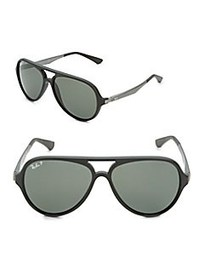 Ray-Ban Pilot Aviator Sunglasses CHARCOAL