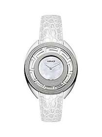 Versace Destiny Stainless Steel, Mother-Of-Pearl &