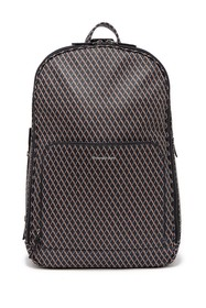 Ermenegildo Zegna Printed Leather Backpack