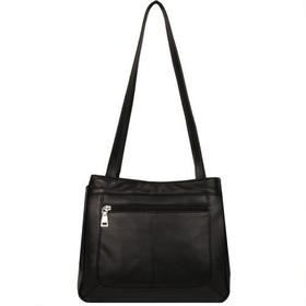 Wilsons Leather Organized Tote with Front Pocket