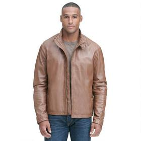 Designer Brand Smooth Leather Barracuda Jacket
