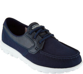 """As Is"" Skechers On-the-GO Boat Shoes with Goga Ma"
