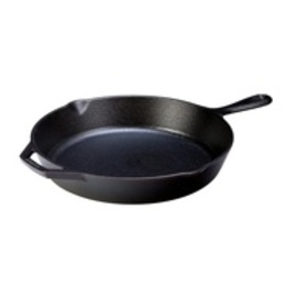 "Lodge Logic Seasoned Cast Iron 12"" Skillet with As"