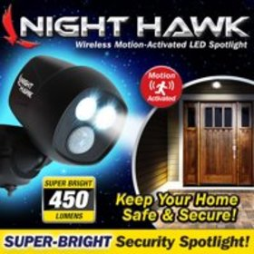 As Seen On Tv Night Hawk Wireless Home Safety Ligh