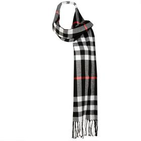 Wilsons Leather Woven Plaid Scarf