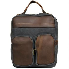 Wilsons Leather Canvas Backpack w/ Leather Details