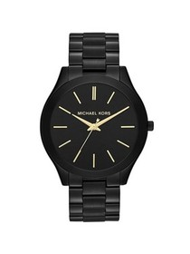 Michael Kors Women's Classic Black-Tone Stainless