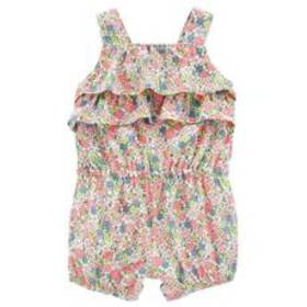 Baby Girl (3-24M) Carter's® Floral Ruffled Sleevel