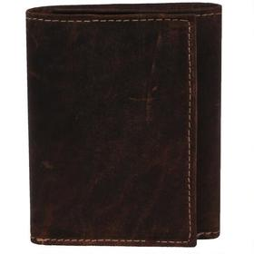 Marc New York RFID Crazy Horse Trifold Leather Wal