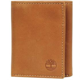 Timberland Cloudy Leather Tri-Fold w/ ID Window