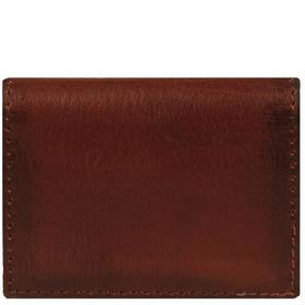 Wilsons Leather Slim Leather Wallet w/ Flip-up ID
