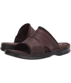 Clarks Dark Brown Tumbled Leather