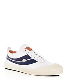 Bally - Men's Smake Leather Lace Up Sneakers