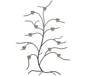 """As Is"" Martha Stewart 71"" Metal Tree Wall Decor w"