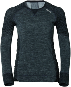 Odlo SUW Natural + X-Warm Crew-Neck Base Layer Top