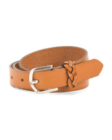 GAPO ITALY Women's Made In Italy Leather Belt