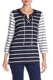 Tommy Bahama Floricita Stripe Top