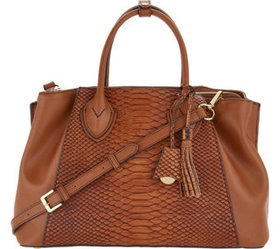 """""""As Is"""" G.I.L.I. Leather Triple Compartment Tuscay"""