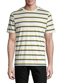 Selected Homme Striped Short Sleeve Tee MUSTARD