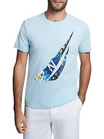 Nautica Artist Series J-Class Graphic Cotton Tee H