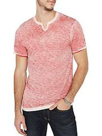 BUFFALO David Bitton Buffalo Jeans Cotton Tee GARN
