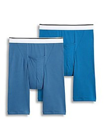 Jockey 2-Pack Classic Pouch Midway Boxer Briefs AS