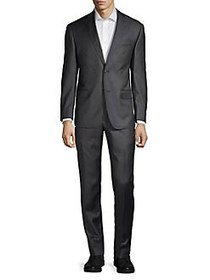 Michael Kors 2-Button Wool Suit DARK GREY