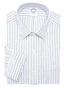 Brooks Brothers Non-Iron Graph Check Dress Shirt W