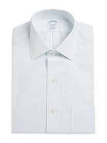 Brooks Brothers Regent Fit Non-Iron Grid Check Dre