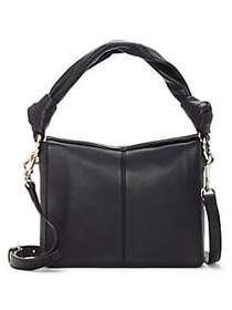 Vince Camuto Dian Leather Crossbody Bag BLACK