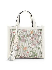 Vince Camuto Indra Floral Leather Bag MULTI