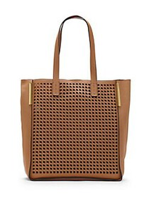 Vince Camuto Hope Large Leather Tote PINK