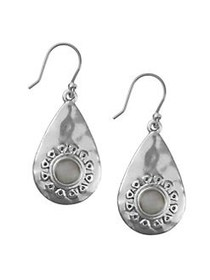 Lucky Brand Floral Tribes Silvertone and Crystal D