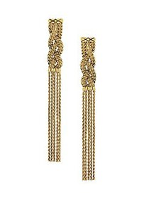 Etienne Aigner Golden Wheat Chain Braided Linear D