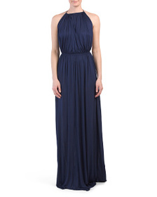DSQUARED Made In Italy Halter Neck Dress